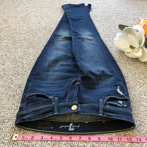 7 for All Mankind Skinny Bootcut Stretch Jeans